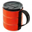 Cană GSI Infinity Backpacker Mug 500ml portocaliu