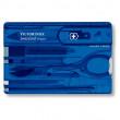 Card multifuncțional Victorinox SwissCard Classic albastru
