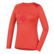 Tricou funcțional femei Husky Merino 100 Puppy(mânecă scurtă) roz