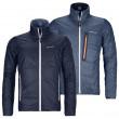 Geacă bărbați Ortovox Swisswool Piz Boval Jacket M albastru închis