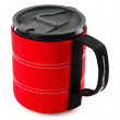 Cană GSI Infinity Backpacker Mug 500ml roșu