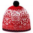 Fes tricotat Merino Kama AW41 roșu red