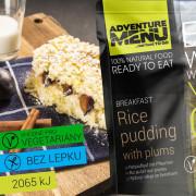 Adventure Menu Pudding de orez cu prune 250 g