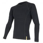 Tricou funcțional bărbați Sensor Merino DF negru černá