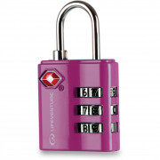 Lacăt Lifeventure TSA Combi Lock roz Pink