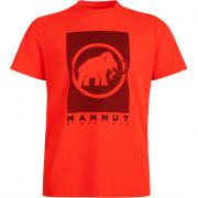 Pánské triko Mammut Trovat T-Shirt Men portocaliu