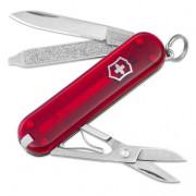 Cuțit Victorinox Classic SD roșu transparent trans red