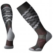Șosete 3/4 Smartwool Phd Ski Light Elite Pattern gri charcoal