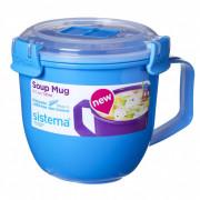 Hrnek Sistema Microwave Small Soup Mug Color albastru