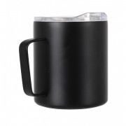 Cană termică LifeVenture Insulated Mountain Mug negru