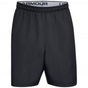 Pantaloni scurți pentru bărbați Under Armour Woven Graphic Wordmark Short negru