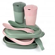 Set de vase Light My Fire Pack'n EatKit BIO roz/verde