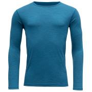 Tricou bărbați Devold Breeze Man Shirt albastru