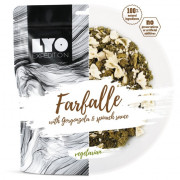 Lyo food  Farfalle cu gorgonzola cu spanac 370 g