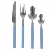 Tacâm Bo-Camp Knife Set 1 Person albastru