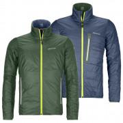 Geacă bărbați Ortovox Swisswool Piz Boval Jacket M verde/albastru