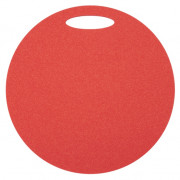 Folie de spumă sub șezut Yate un strat rotund roșu