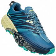 Pantofi pentru alergare femei Hoka One One Speedgoat 4 albastru/galben