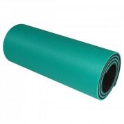Saltea Yate de spumă cu strat dublu 12mm verde deschis/negru