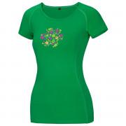 Tricou femei Ocun Bamboo Meadow verde