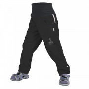 Pantaloni softshell copii Unuo Street fără izolație negru