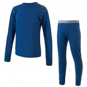 Set lenjerie copii Sensor Merino Air bluză +colanți albastru tmavě modrá