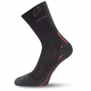 Ponožky Lasting WHI 721 negru/roz