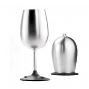 Pahar GSI Glacier Stainless Nesting Wine Glass