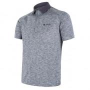 Tricou funcțional polo bărbați Sensor Merino Motion gri šedá