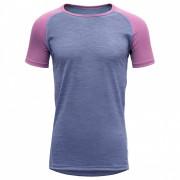 Dětské triko Breeze Junior T-shirt albastru/gri