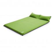 Saltea autogonflabilă Zulu Dreamtime 7,5 Double Pillow verde