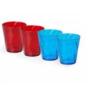 Set pahare Omada set Tritan Water glass 0,35 l culori mix
