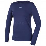 Tricou damă funcțional Husky Active Winter (mânecă lungă) albastru modrá