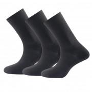 Șosete Devold Daily light sock 3PK negru