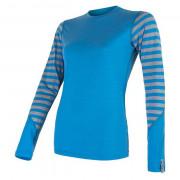 Tricou funcțional femei Sensor Merino Active mânecă lungă