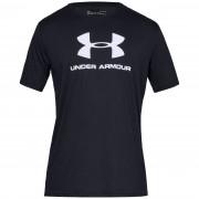 Tricou pentru bărbați Under Armour Sportstyle Logo SS negru