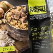 Adventure Menu Carne de porc cu cnedlic și varză 400g