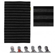 Bandană femei Sensor DF Merino Wool gri/negru