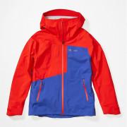 Dámská bunda Marmot Wm's Huntley Jacket albastru/roșu