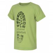 Dětské cool dry triko Husky Zingl K verde deschis