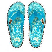 Șlapi femei Gumbies Islander Turquoise Pattern turquoise turquoise