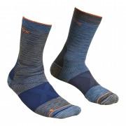 Șosete Ortovox Alpinist Mid Socks gri/albastru