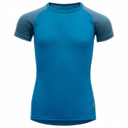 Dětské triko Devold Breeze Kid T-Shirt albastru