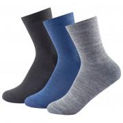 Șosete Devold Daily light sock 3PK negru/albastru Indigo mix
