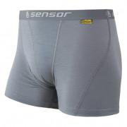 Boxeri bărbați Sensor Merino Wool Active gri gri šedá