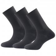 �osete Devold Daily medium light sock blk 3pk negru