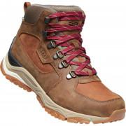 Încălțăminte de trekking femei Keen Innate Leather Mid Wp W maro