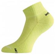 Ponožky Lasting WDL 900 verde deschis