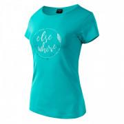 Dámské triko Hi-tec Lady Elsea albastru/alb