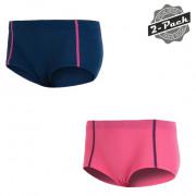 Chiloți femei Sensor Original Active 2-pack albastru/roz